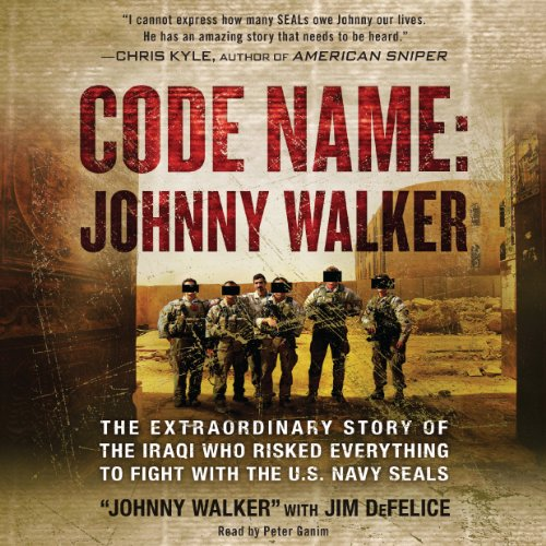 Code Name: Johnny Walker: The Extraordinary Story of the Iraqi Who Risked Everything to Fight with the U.S. Navy SEALs Audiobook [Free Download by Trial] thumbnail