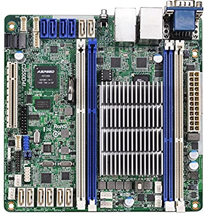 ASRock Rack Mini ITX DDR3 1333 Motherboards C2550D4I