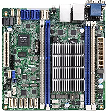ASRock C2550D4I Carte mère pour Serveur, Intel, DDR3-SDRAM, Mini ITX
