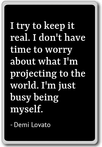 Amazon.com: I try to keep it real. I don\'t have time to wor ...