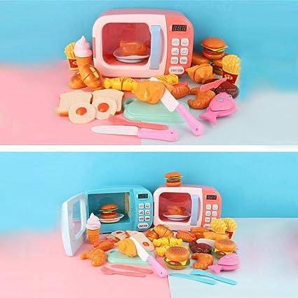 iBàste Juego de Juego de microondas para Cocina de Juguete para ...