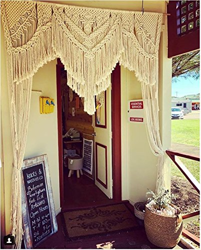 Amazon.com: Knitt world Macrame Wall Decor Hanging - Bohemian Home ...