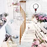 """Outill Wind Chimes 36"""" Large Deep Tone Piano Wind Chime with 18 Tuned Tubes, Elegant Decoration for Outside, Garden…"""