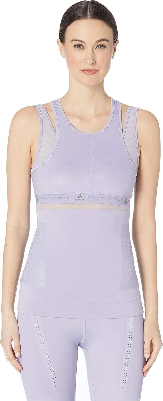 Iced Lavender Adidas by Stella McCartney Women's Run Tank DX0034