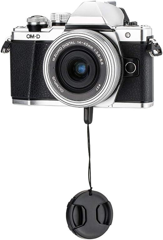 + Lens Cap Holder 77mm Nwv Direct Microfiber Cleaning Cloth. Digital Nc Olympus Evolt E-420 Lens Cap Center Pinch