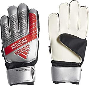 adidas Youth Predator Top Training Finger Save Soccer Goalkeeper Gloves