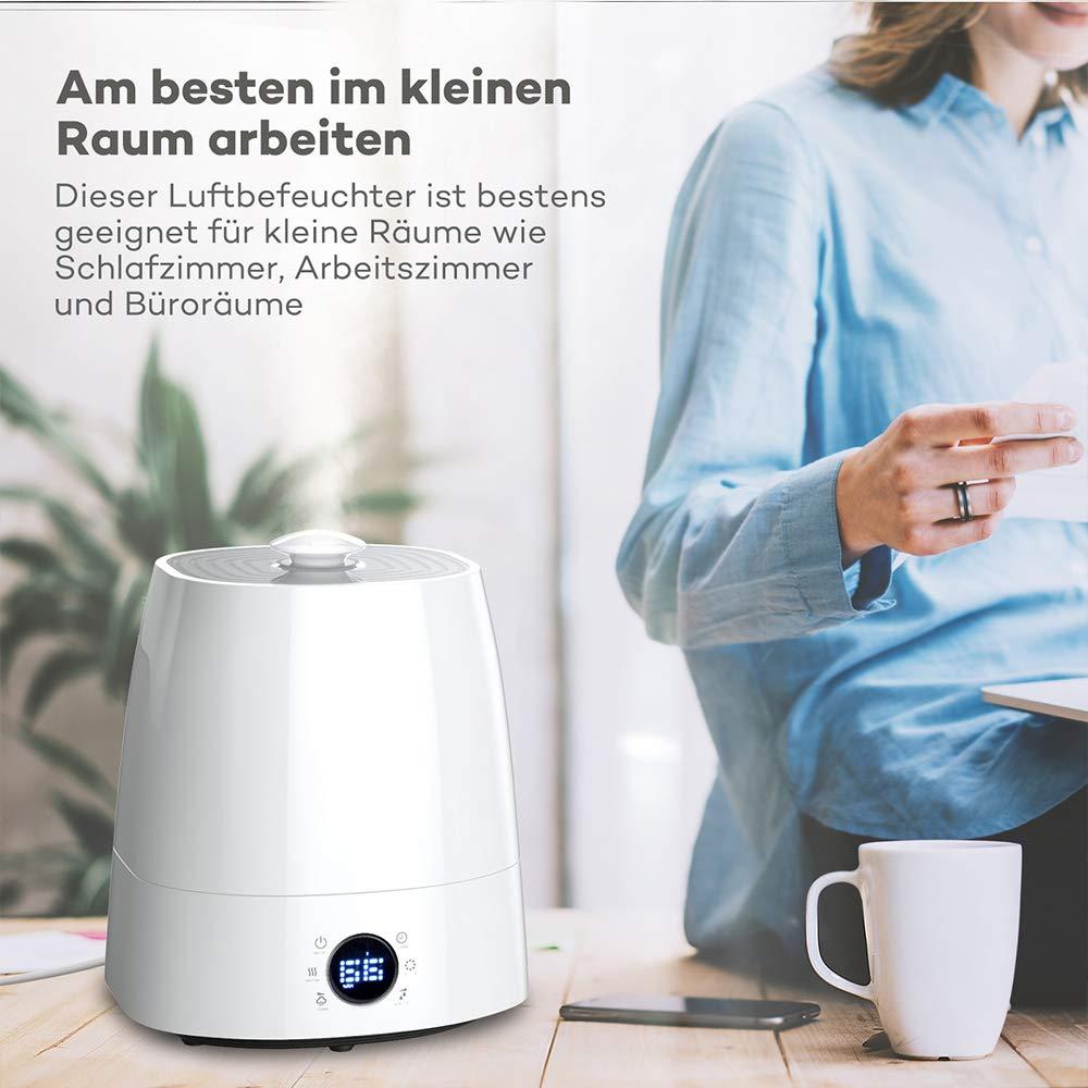 Luftbefeuchter 20,20L Ultraschall Befeuchter für Wohnzimmer
