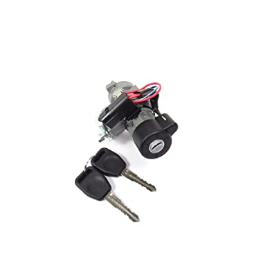 Ignition Lock Switch Retrofit Kit with Keys QRF000080 for Land Rover Discovery 2: Automotive