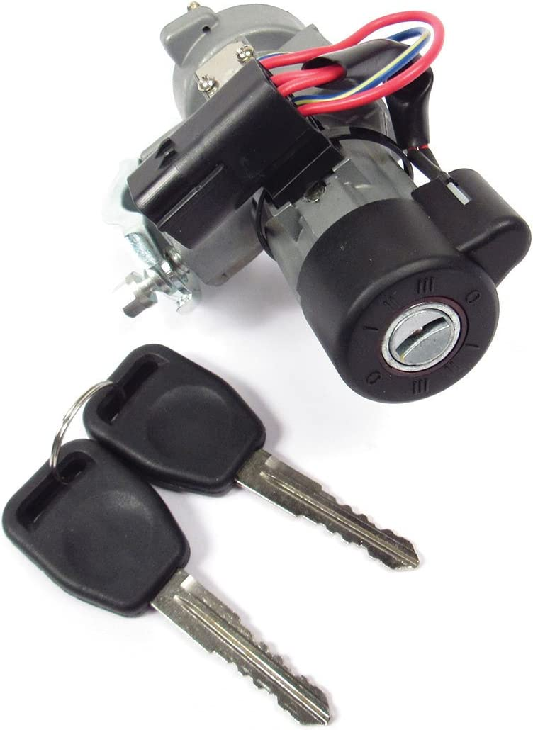 Ignition Lock Switch Retrofit Kit with Keys QRF000080 for Land Rover Discovery 2 (1999-2004)