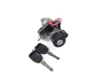 Land Rover QRF000080 Ignition Lock Switch Retrofit Kit with Keys for on