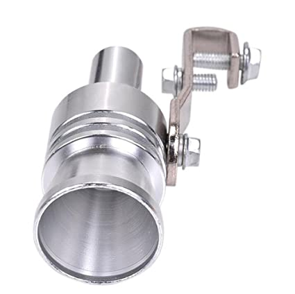 Car Aluminum Refitting Turbo Sound Whistle Exhaust Pipe Tailpipe BOV Blow-off Valve Simulator Motorcycle