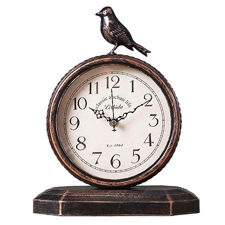 ZQG Reloj Retro Europeo de 10 Pulgadas para Sala de Estar ...