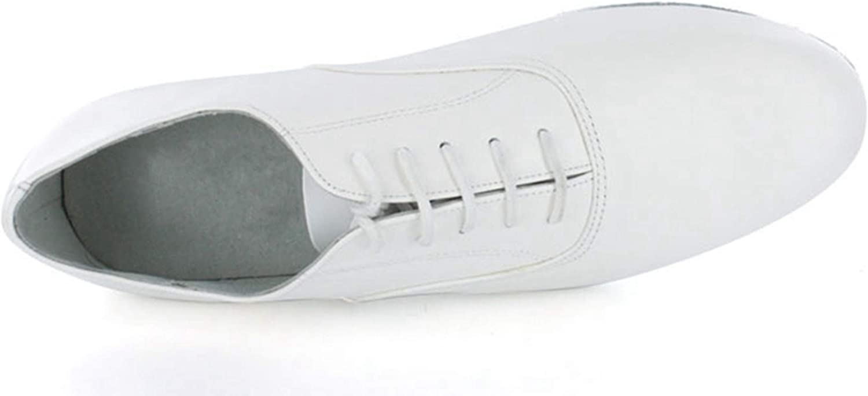 MINITOO Mens JF250509 Comfort Standard Leather Ballroom Latin Dance Shoes