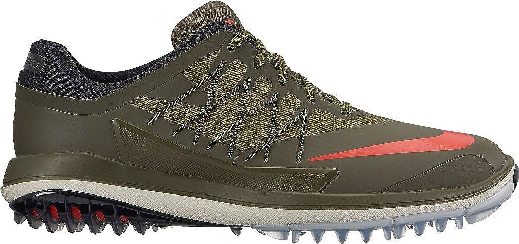 san francisco 5b77a 98272 Amazon.com   Nike Lunar Control Vapor Spikeless Golf Shoes 2017 Cargo  Khaki Palm Green Light Bone Lava Glow Medium 10.5   Golf