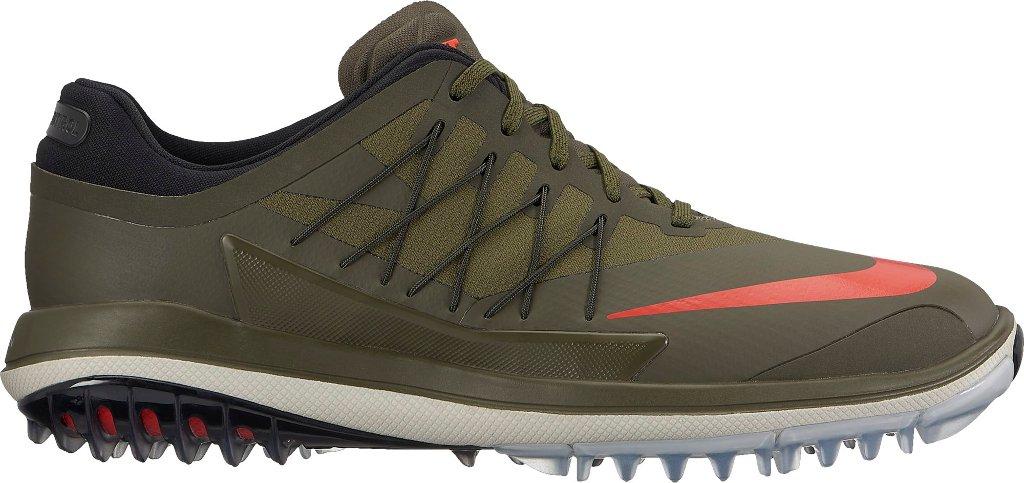 NIKE Lunar Control Vapor Spikeless Golf Shoes 2017 Cargo Khaki/Palm Green/Light Bone/Lava Glow Medium 9 by NIKE