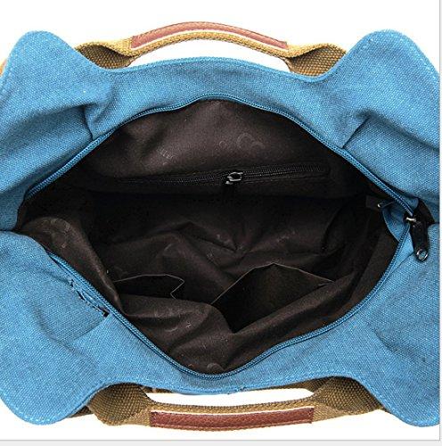Rrock Di A Pacchetto Mano Nero Diagonale Blu Piacere Borsa Viaggi Tracolla Multitasche qx47qCOHgw
