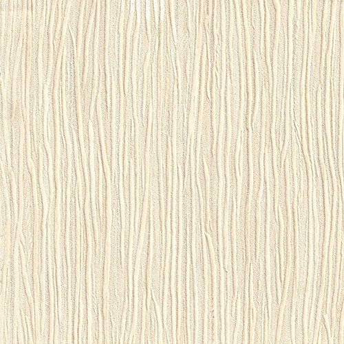 Romosa Wallcoverings 787-42 Forest Embossed Textured Wallpaper, Beige ()