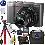 Panasonic Lumix DMC-ZS100 Digital Camera (Silver) + 32GB Card + Photo Accessory Bundle