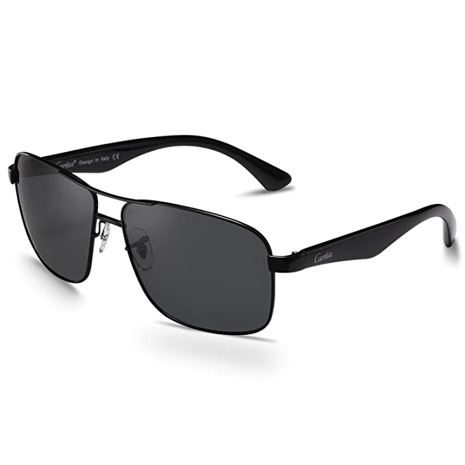 07f8505994 Image Unavailable. Image not available for. Color  Carfia Polarized  Sunglasses for Men