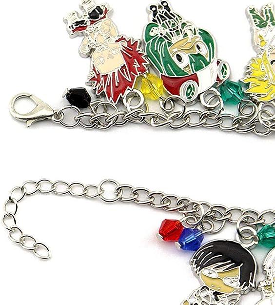 ZIMCA My Hero Academia Anime Manga Charm Bracelet Quality Cosplay Jewelry Series