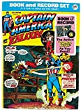 : CAPTAIN AMERICA AND THE FALCON. Book and Record Set. PR12