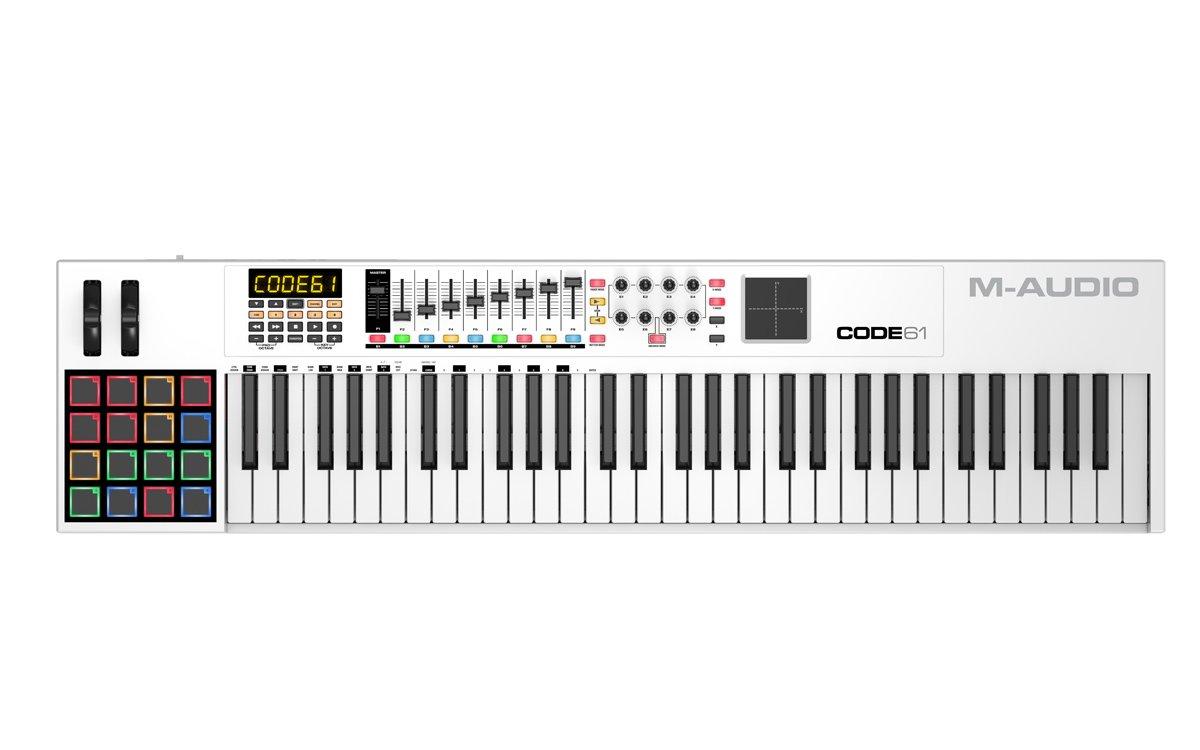m-audio code 49 – clavier maitre usb midi 49 touches aftertouch avec pad tactile x-y