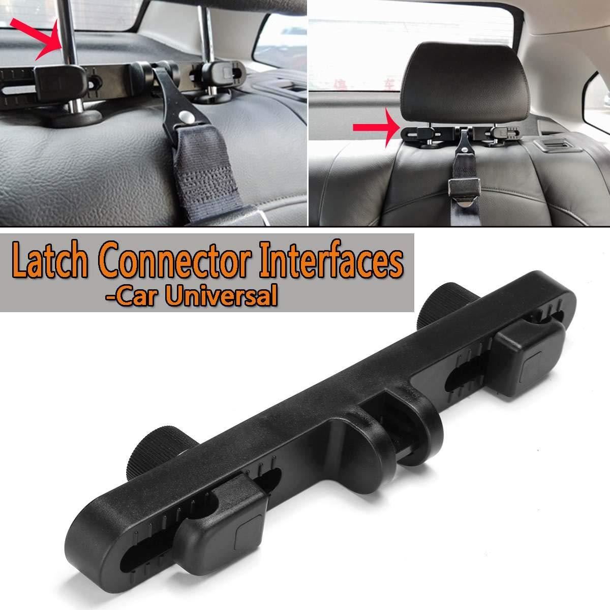 KK moon Universal Car Seat Restraint Anchor Mounting Kit for ISOFIX Belt Connector