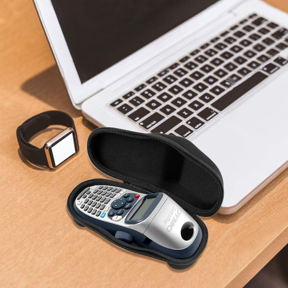 Custodia per DYMO LetraTag LT-100H Handheld Label Maker misura 3 nastri extra ma non includerli
