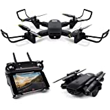 Cooligg S169 WiFi FPV Optical Flow Selfie Drone,Visual Position Fix,Dual Camera Switching,360°Flipping+Real-Time Transmission,Mobile Control