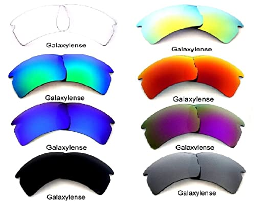 027f66de003 Amazon.com  Galaxy Replacement Lenses For Oakley Flak 2.0 XL 8 Colors Pairs  Special Offer!  Clothing