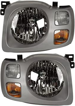 amazon com for nissan xterra 2002 2003 2004 pair new left right headlight assembly buyautoparts 16 80740a9 new automotive amazon com