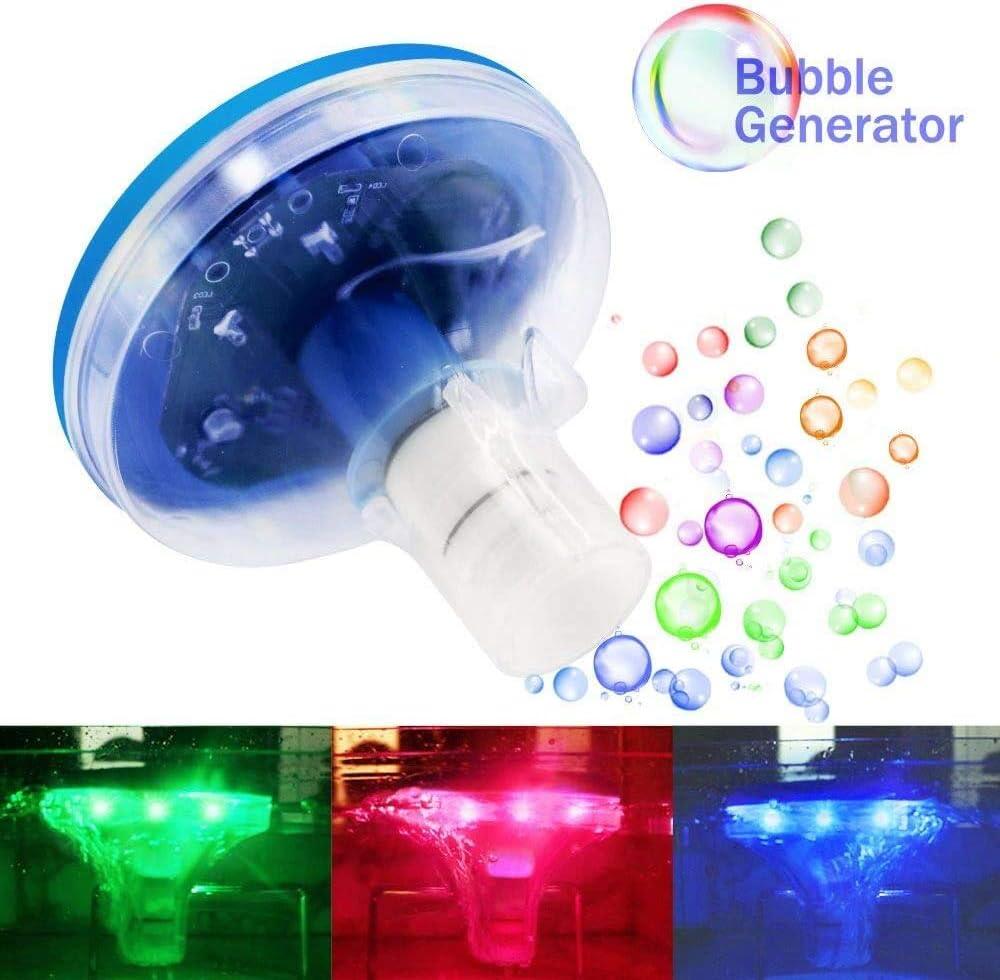 Wasserdicht bunte Badewannen-Spielzeug-Lichter RGB-Beleuchtungsmodi Jomilly Schwimmende Pool-Lichter Disko-Pool-Party-Lichter f/ür Teich-Brunnen Baby-Bad-Lichter f/ür Whirlpool Partydekorationen