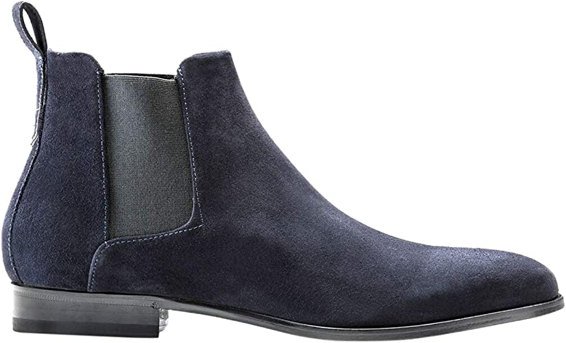 Cult Suede Leather Chelsea Boots Shoes