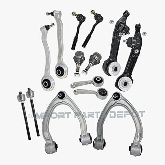 Mercedes Front Control Arm Ball Joint Bushing Tie Rod Sway Bar Links