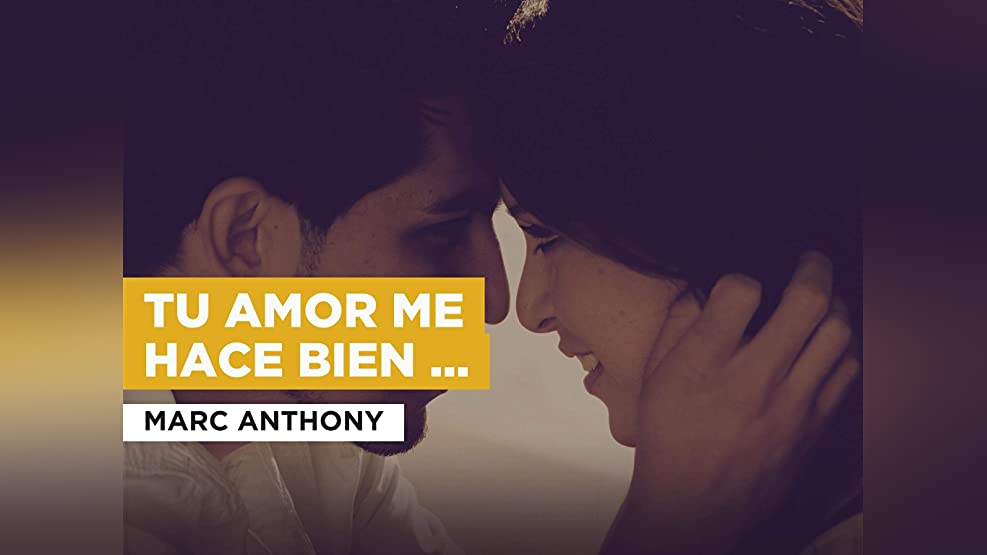 Tu amor me hace bien (Salsa Version) in the Style of Marc Anthony