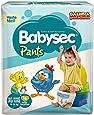 Fraldas descartáveis Babysec Pants Galinha Pintadinha, 16 unidades, Tamanho XG/XXG 12 - 18 Kg