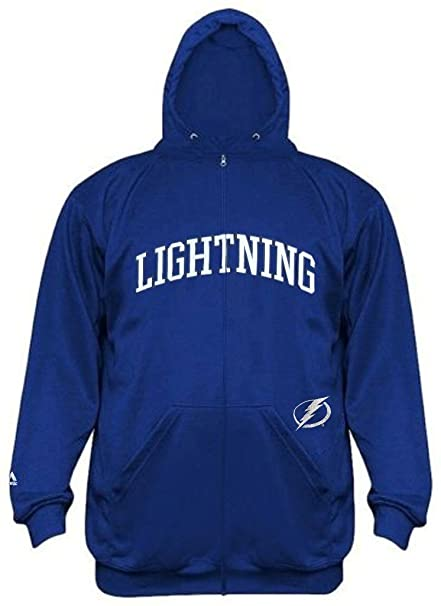 0f11827a9a4 Tampa Bay Lightning NHL Mens Time Delay Full Zip Hoodie Royal Big   Tall  Sizes (