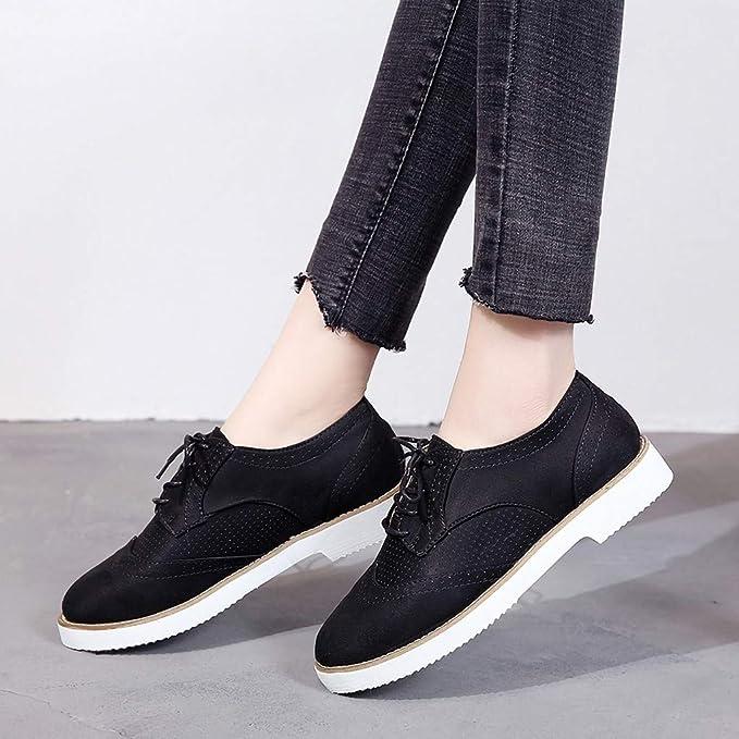 Btruely❤️Botines Mujer Tacon Medio Planos Invierno Tacon Ancho Piel Botas Bonitas Moda 3cm Casual Planas Zapatos Ankle Boots Caqui Rosa Beige Negros ...