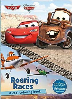 Roaring Races Coloring Book (Disney Pixar Cars & Planes ...