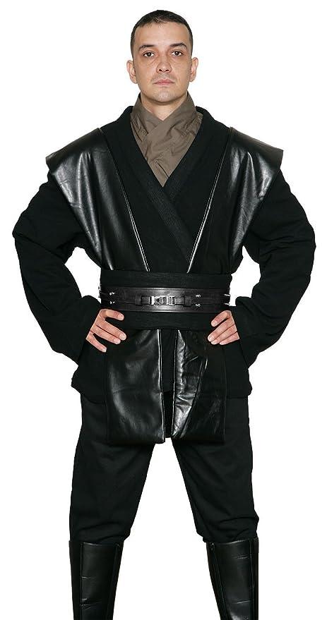 STAR WARS SITH / Jedi Stivali - Nero - Costume Replica - Nero, Nero, Uomo: L