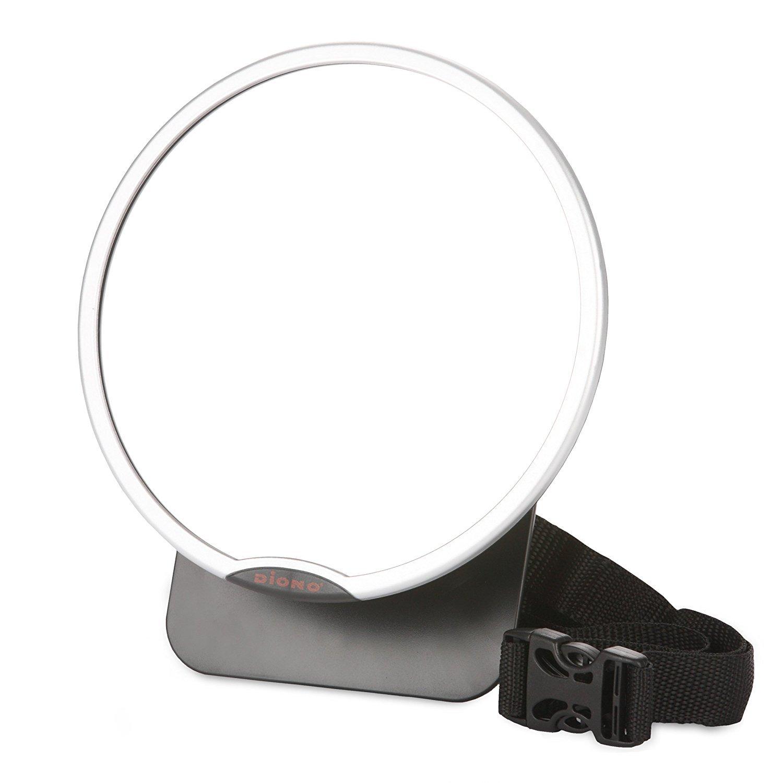 Diono Easy View Mirror New Design 2014Silver 40111