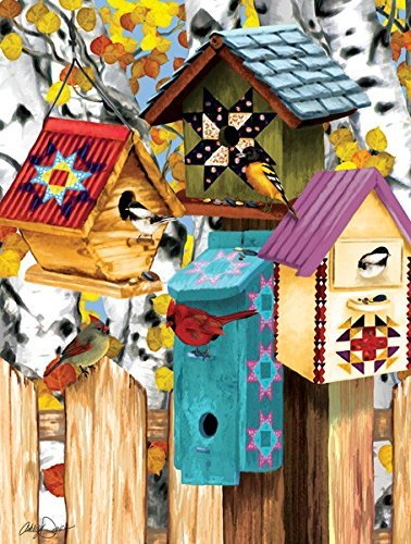 - SunsOut Fall Birdhouses 1000 Piece Jigsaw Puzzle