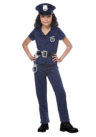 56a49b18a73 Girls Cute Cop Costume