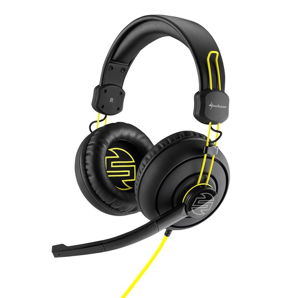 Sharkoon Shark Zone H10 Cuffie per PC, Nero 4044951015863 Headset