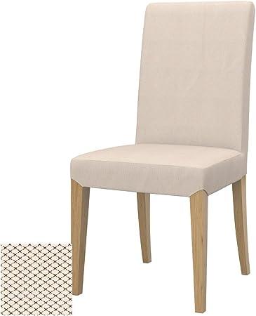Soferia Fodera Extra Ikea Henriksdal Sedia Tessuto Nordic Creme Amazon It Casa E Cucina