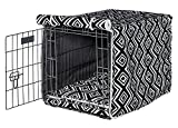 Bowsers Luxury Crate Cover, Large, Azure