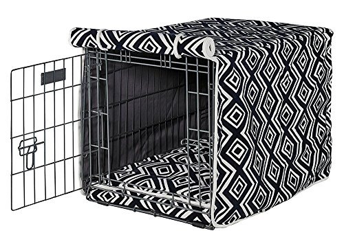 Bowsers Luxury Crate Cover, Large, Azure Review