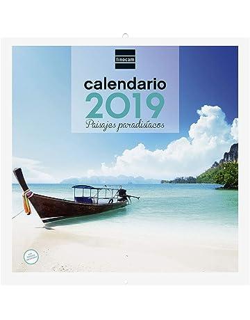 Finocam 780303119 - Calendario de pared 2019