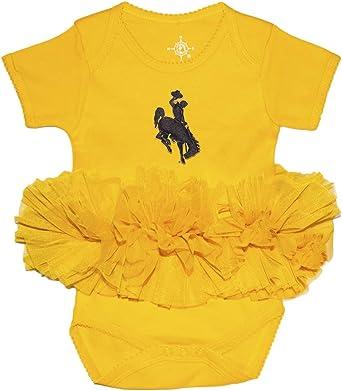 University of Wyoming Cowboys Baby and Toddler 2-Tone Raglan Baseball Shirt