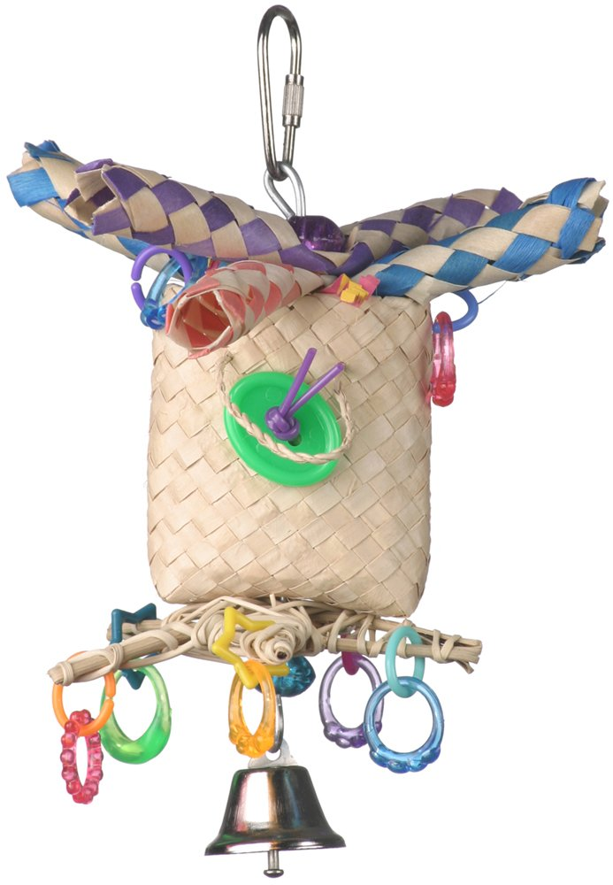 Super Bird Creations 7 by 5-Inch In the Bag Bird Toy, Small